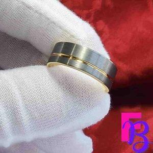 Size 8.5 8mm Tungsten Ring